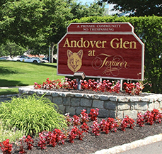 Andover Glen at Foxmor Landscape Entrance