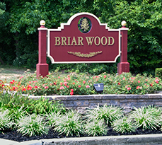 Briar Wood Landscape Entrance