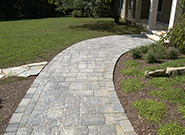 Paved Entrance