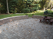 Paved Back Patio